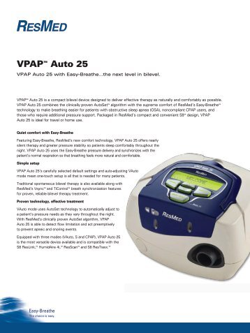 resmed vpap iii st clinical manual