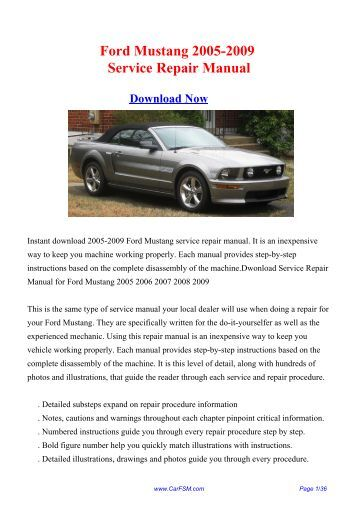 2005 f150 stx owners manual