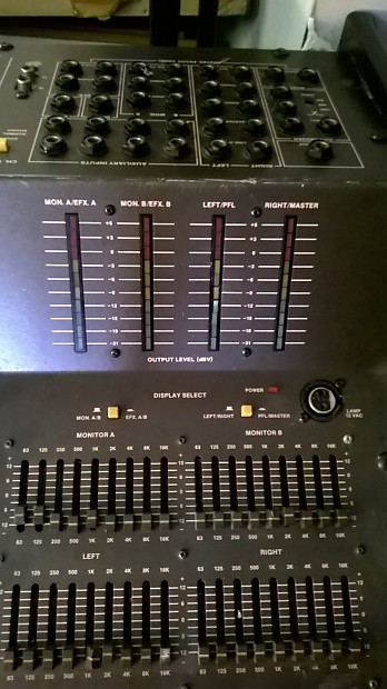 manual for peavey mark iv 16 channel mixer